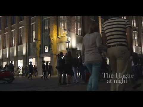THE HAGUE AT NIGHT IN 4K (UHD)
