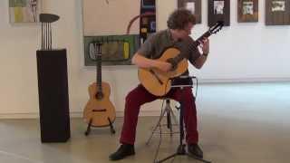 """Stargazing"" on solo classical guitar - Emiel Stöpler"