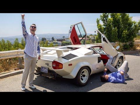 Lamborghini Countach Review - As INSANE To Drive As It Looks?