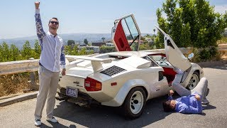 Lamborghini Countach Review - As INSANE To Drive As It Looks?