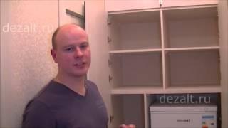 Распашной шкаф с морозильной камерой внутри(, 2016-01-02T21:16:52.000Z)