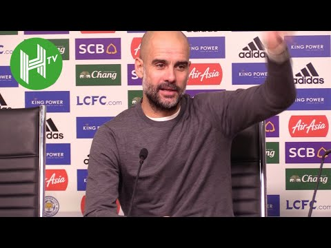 Leicester 2-1 Man City | Pep Guardiola: There is no point talking about Liverpool