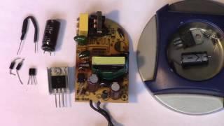 Ремонт адаптера живлення від роутера