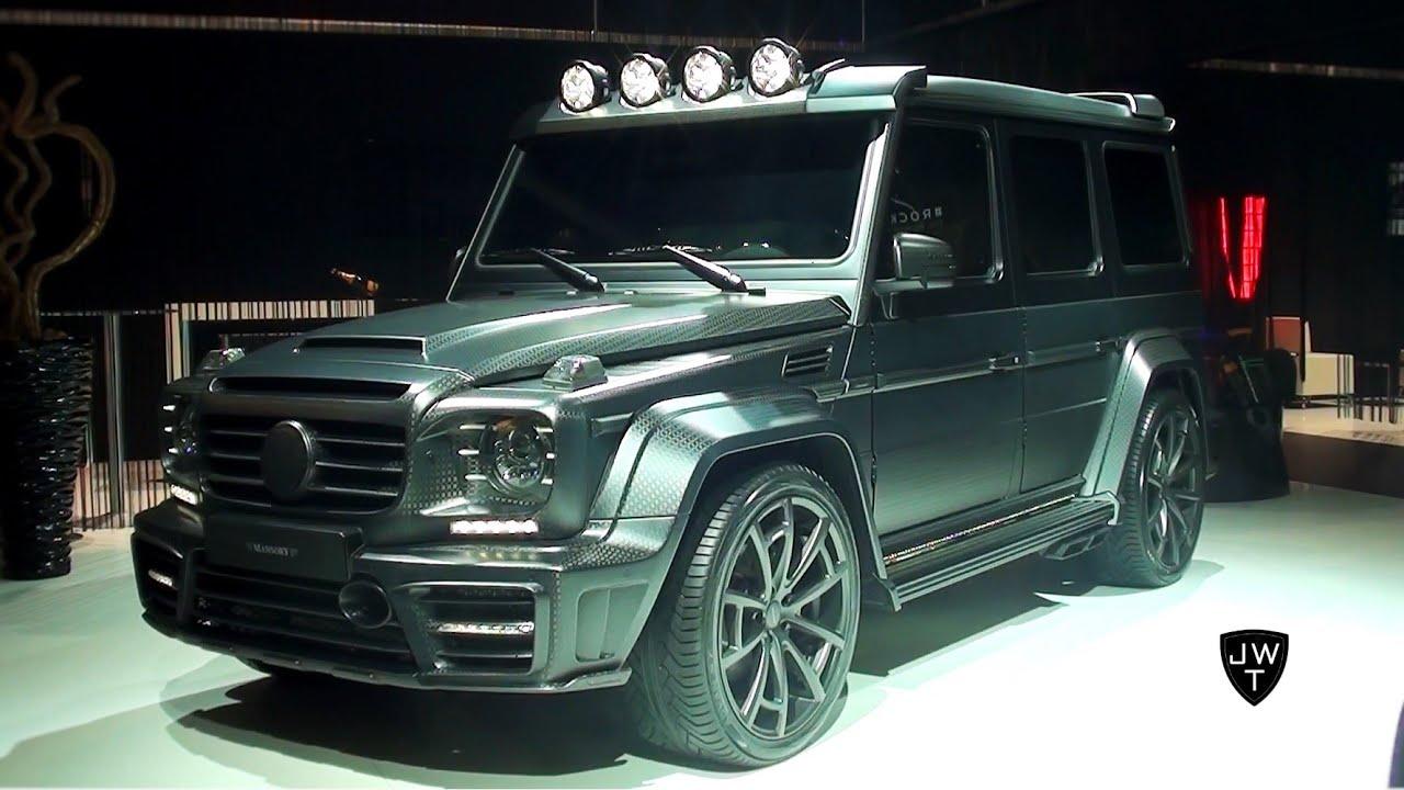 the brutal 840 hp mansory gronos mercedes g65 amg black. Black Bedroom Furniture Sets. Home Design Ideas