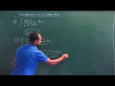 NCERT 12 Maths Ch 7 Integrals Miscellaneous Ex hints & solutions