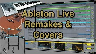 David Guetta, Chris Willis Feat  Fergie, LMFAO - Gettin' Over You - Ableton Live Remake / Cover