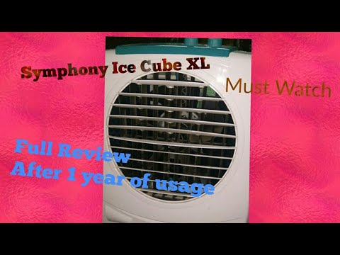 Using Symphony Ice Cube XL Air Cooler Full Review