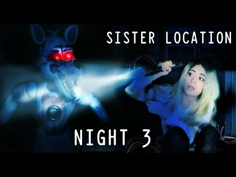 Download ALONE WITH FOXY!! | Five Nights at Freddys SISTER LOCATION P2
