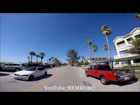 Driving Pass-A-Grille Beach, Florida Spring Break 2016