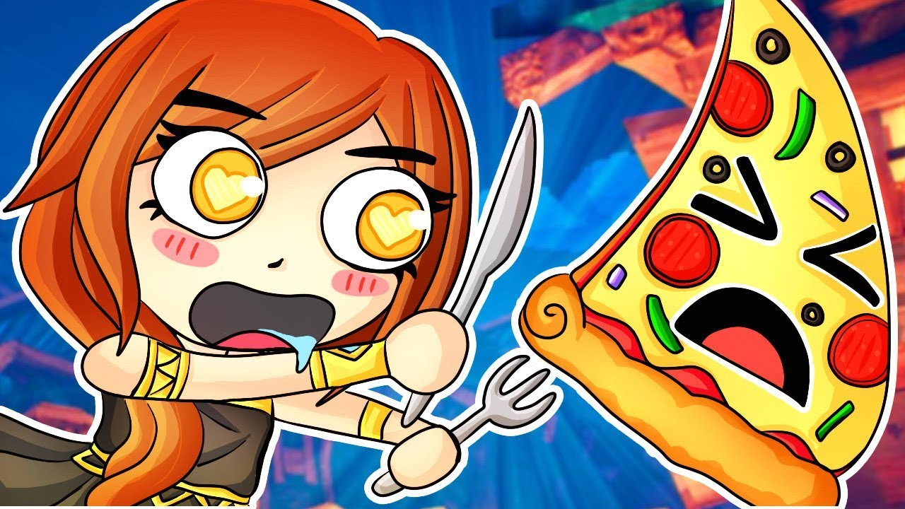 DON'T TOUCH MY PIZZA in Hide and Seek! (Witch It Funny Moments)