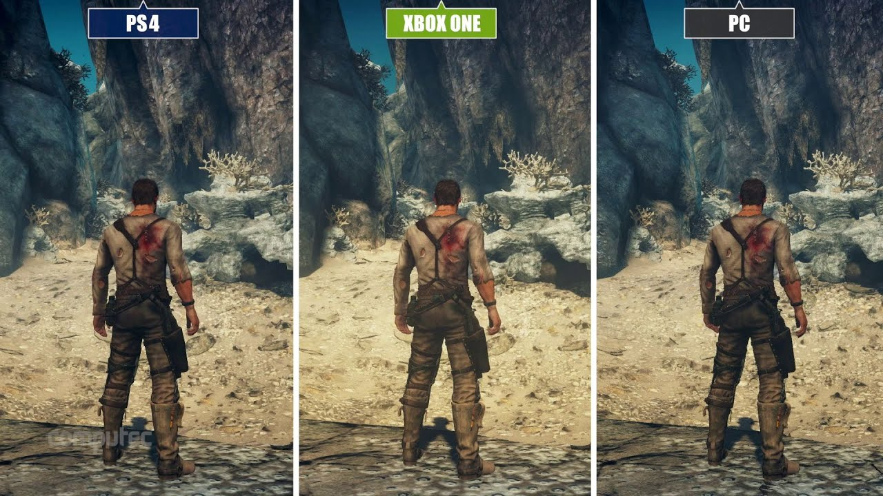 ... vs. Xbox On... Xbox One Vs Ps4 Comparison Graphics