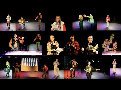 March 2016 Poetry & Music Salon @ Palmerston Library Theatre