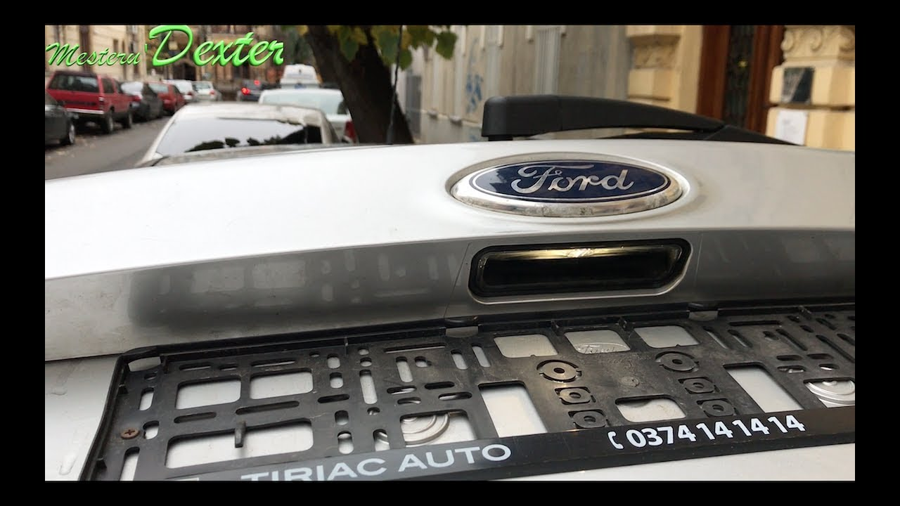 License plate light/open trunk button removal Ford Focus ...