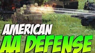 War Thunder M-16 American ANTI AIR! 4X.50cals!