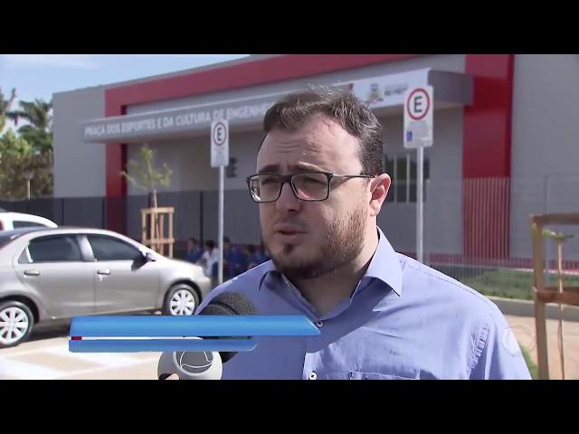 Marcos Pereira em Engenheiro Schmitt - Inauguração da Praça dos Esportes