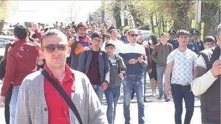 Գյումրիում դպրոցականները դասադուլ էին հայտարարել