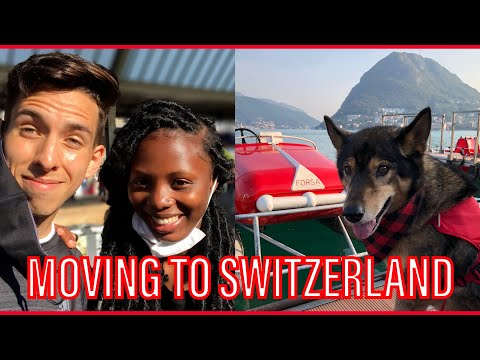 Moving to our new home in SWITZERLAND.