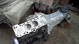 КПП ВаЗ - 5ст. (классика) + дизель VW на Москвич-401 \ ч.2