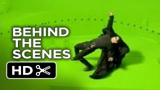 The Matrix Behind The Scenes - Rooftop (1999)  - Keanu Reeves Movie HD
