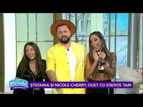 Stefania si Nicole Cherry, piesa noua cu esente tari