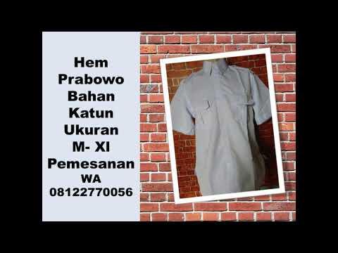 Jual Kemeja Panjang Prabowo 08122770056 (T-SEL)