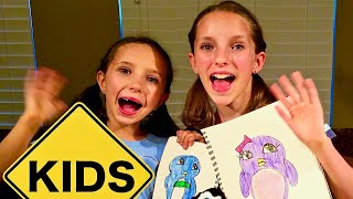 Sign Post Art with Sign Post Kids! How to Draw a Penguin!