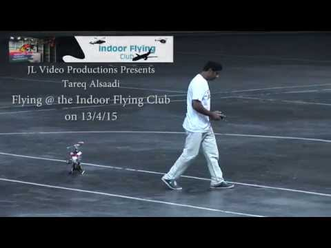 Tareq Alsaadi flying at the Indoor Flying Club, Cape Town, 13/04/15(2)