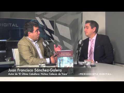 Juan Francisco Sánchez-Galera, autor de 'El último caballero: Núñez Cabeza de Vaca'. 24-1-2014