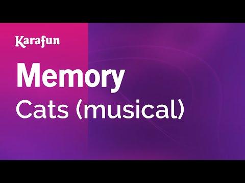 Memory - Cats (musical) | Karaoke Version | KaraFun