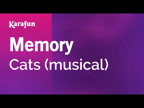 Karaoke Memory  Cats *