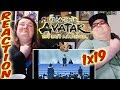 """Avatar: The Last Airbender Episode 19 REACTION!! """"""""The Siege of the North, Part 1"""""""""""