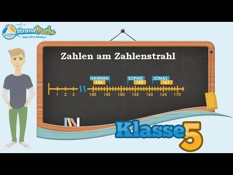 Zahlenstrahl einfach erklärt || Klasse 5 ★ Wissen from YouTube · Duration:  3 minutes 22 seconds