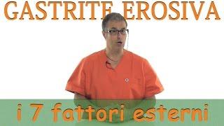 Gastrite erosiva sintomi e cause: ecco i 7 fattori esterni