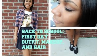 First Day of School: Outfit, Makeup, and Hair 2014 Thumbnail