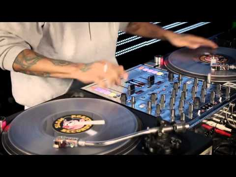 NOW THIS IS REAL DJING (IN THE MIX ROUTINE) CRAZE