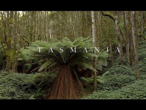 Drone over Tasmania