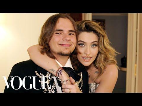 Paris And Prince Jackson Get Ready Together | Vogue