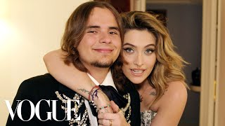 Paris and Prince Jackson Get Ready Together | Vogue