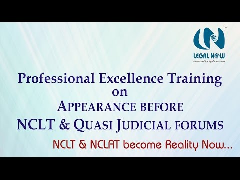 NCLT Training Course