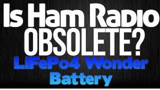 is ham radio dead proof   qrp ranger lifepo4 k6uda radio episode 20