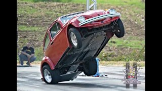 FUSCA TURBO EMPINANDO. ARRANCADA BRAZIL (Beatle Wheelstand)
