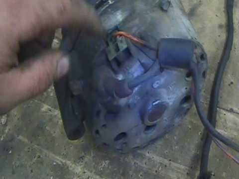 Ford externally regulated alternator wiring - YouTube