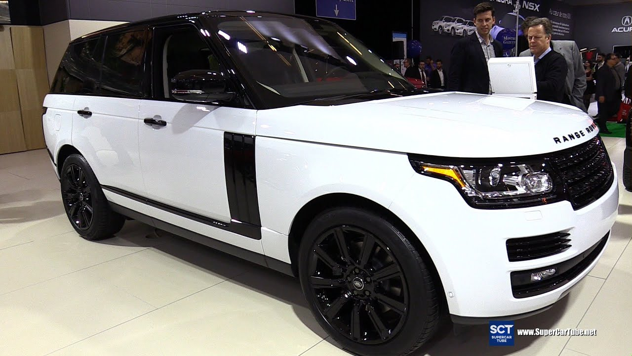2016 range rover td6 diesel hse exterior and interior walkaround 2016 montreal auto show. Black Bedroom Furniture Sets. Home Design Ideas