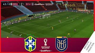 BRASIL vs ECUADOR   Resumen   Eliminatorias Sudamericanas 2021, QATAR 2022