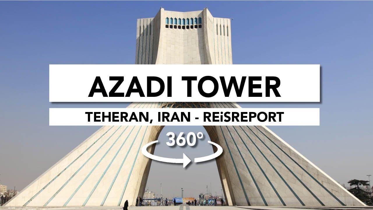 360° Azadi Tower, Teheran (Iran)