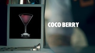 Coco Berry Drink Recipe - How To Mix