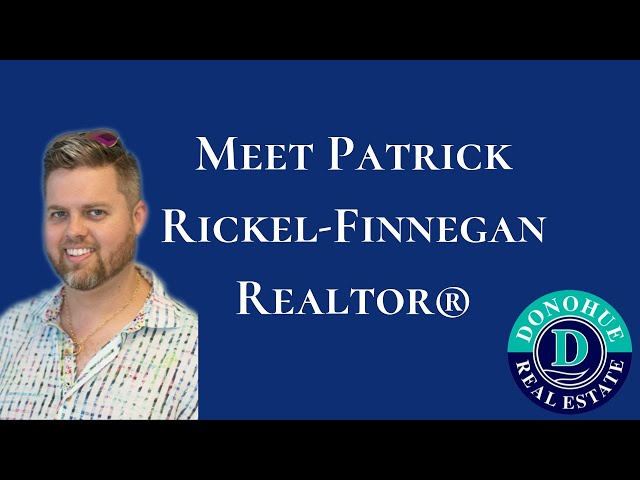 Patrick Rickel-Finnegan - Donohue Real Estate Agent