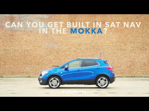 Can you get built in Sat Nav in the Vauxhall Mokka