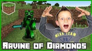 Ravine Full Of Diamonds / Minecraft