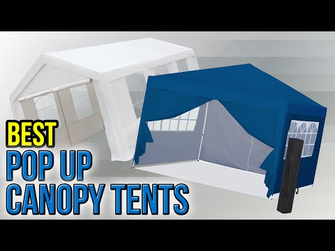 8 Best Pop Up Canopy Tents 2017